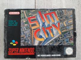 Sim City (SNES tweedehands game)