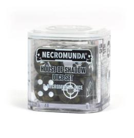 Necromunda house of shadow dice set (Warhammer Nieuw)