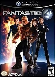 Fantastic four (gamecube used game)
