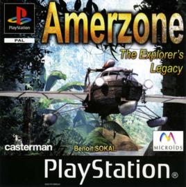 Amerzone (ps1 tweedehands game)