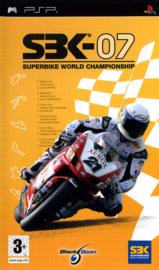 SBK 07 Superbike world championship zonder boekje (psp tweedehands game)