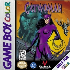 Catwoman losse cassette(Gameboy color tweedehands game)