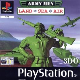 Army Men Land, Sea, Air zonder boekje (PS1 tweedehands game)