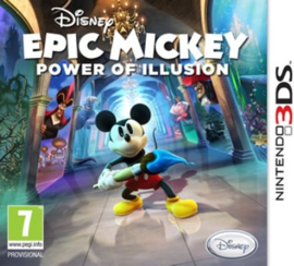Disney Epic Mickey Power of Illusion (Nintendo 3DS nieuw)