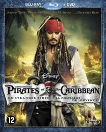 Pirates of the Caribbean On Stranger Tides Blu-ray + DVD (Blu-ray tweedehands film)