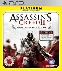 Assassins Creed II game of the year platinum zonder boekje (ps3 used game)