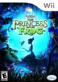 Disney the princes and the frog zonder boekje (Nintendo wii tweedehands game)