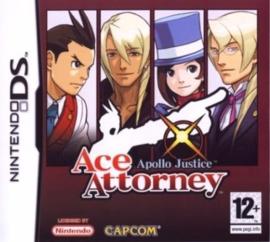 Ace Attorney Apollo Justtice (Nintendo DS nieuw)