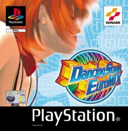 Dancing Stage Euromix zonder boekje(PS1 tweedehands game)