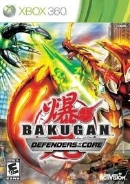 Bakugan: Defenders of the core (xbox 360 nieuw)