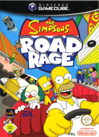 The Simpsons Road Rage zonder boekje (Gamecube tweedehands game)