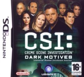 CSI Crime Scene Investigation 2: Dark Motives (Nintendo DS nieuw)