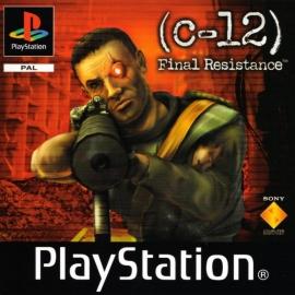 C-12: Final Resistance zonder boekje met poster (PS1 tweedehands game)