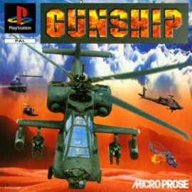 Gunship (PS1 tweedehands game)