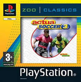 Actua Soccer 3 (ps1 tweedehands game)