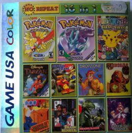 Game USA 16 in 1  (Gameboy Advance Color tweedehands game)