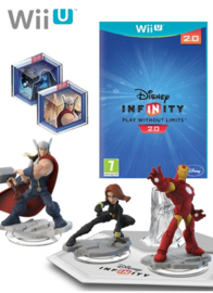 Disney Infinity 2.0 Marvel Super Heroes Starters pack (Wii U tweedehands)