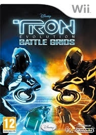 Tron Evolution Battle Grids (wii used game)