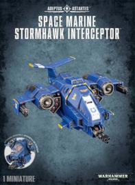 Space Marine Stormhawk Interceptor koopje  (Warhammer Nieuw)