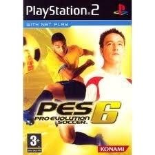 Pro Evolution Soccer 6 (ps2 used game)