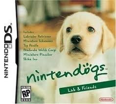 Nintendogs Labrador & Friends zonder boekje (nintendo DS used game)