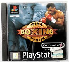 Mike Tyson Boxing (ps1 tweedehands game)