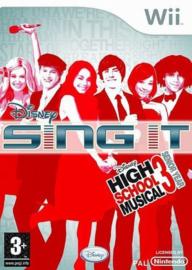 Disney Sing It High School Musical 3 Senior Year (Nintendo Wii tweedehands game)