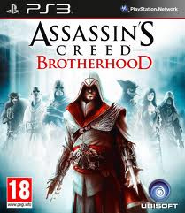 Assassins Creed Brotherhood zonder boekje (ps3 used game)