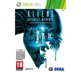 Aliens Colonial Marines Limited edition (xbox 360 used game)