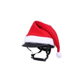 Muts -Christmas- rood/wit 1 maat