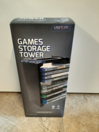 Venom Games Storage Tower blu-ray ps3 ps4 xbox one (nieuw)