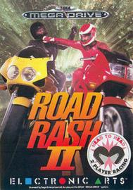 Road Rash II (Sega Mega Drive tweedehands game)
