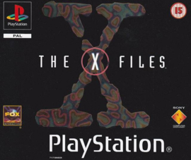 The X-files (PS1 tweedehands game)