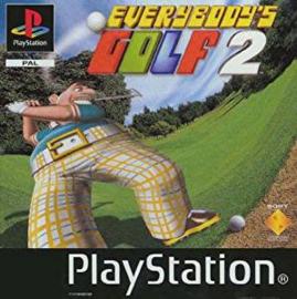 Everybody's Golf 2 (PS1 tweedehands game)