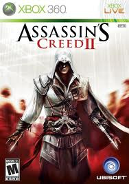 Assassin`s Creed II zonder boekje en cover (Xbox 360 used game)