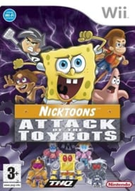 Nictoons Attack of the Toybots (Nintendo Wii tweedehands game)