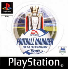 Football Manager The F.A. Premier League 2001 (PS1 tweedehands game)