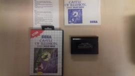 Castle of illusion (Sega Master System tweedehands game)