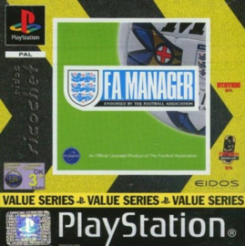 F.A. Manager (PS1 tweedehands game)