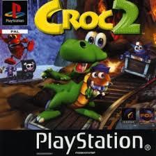 Croc 2  zonder boekje (PS1 tweedehands game)