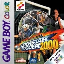 International Superstar Soccer 2000 losse cassette (Gameboy Color tweedehands game)