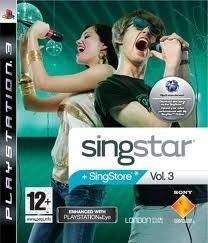 singstar vol.3 (ps3 nieuw)