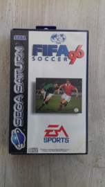 FIFa 96 zonder boekje (Sega Saturn tweedehands game)