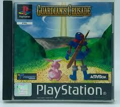 Guardian's Crusade zonder boekje (playstation 1 tweedehands game)