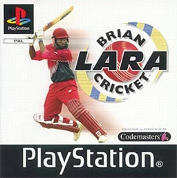 Brian Lara Cricket zonder boekje (PS1 tweedehands game)