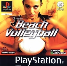 Beach volleyball (PS1 tweedehands game)