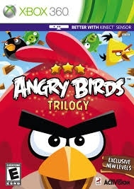 Angry Birds Trilogy zonder boekje (xbox 360 used game)
