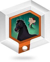 Disney Infinity 1.0 Power disks Paard van de hoofdloze ruiter (Disney infinity tweedehands)