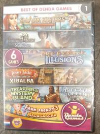 Best of Denda Games 1 - 6 spellen in 1 (PC game nieuw)