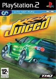 Juiced zonder boekje  (ps2 used game)